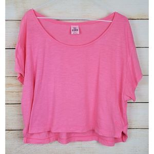 """🦌 Pink Cropped Top by """"PINK"""" Small"""